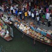 Floating Market Damnoen Saduak, Top tourist attractions in Bangkok