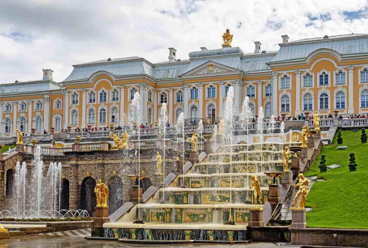 Grand Palace, Saint Petersburg, Russia