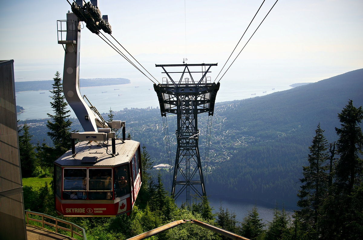 Grouse Mountain Skyride, Canada