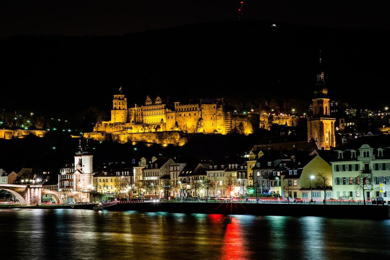 Heidelberg Castle, Castles in Germany