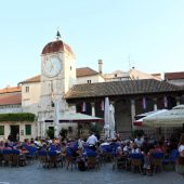 Historic center of Trogir is situated on a small island between the mainland and the island of Ciovo, Best Places to Visit in Croatia