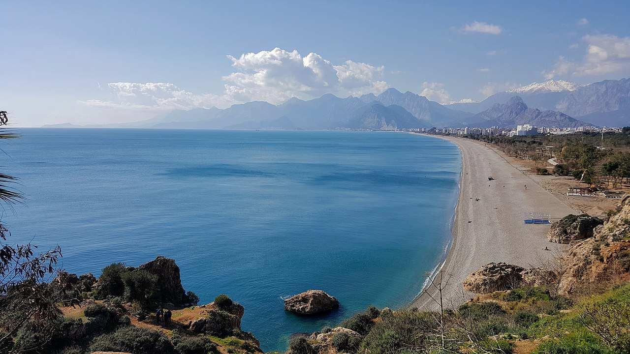 Konyaaltı Beach, Top tourist attractions in Antalya