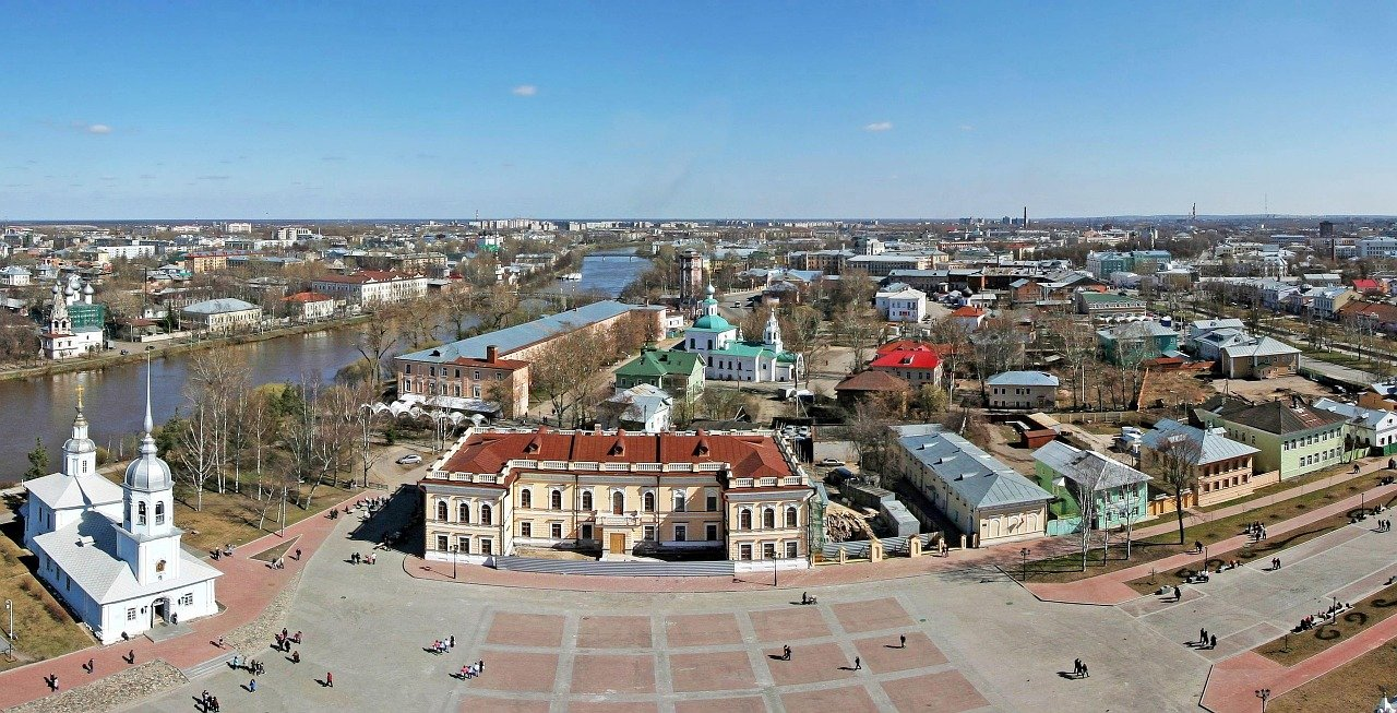 Kremlyovskaya Square, Vologda, Best places to visit in Russia