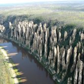 Lena Pillars - natural rock formations, Best places to visit in Russia
