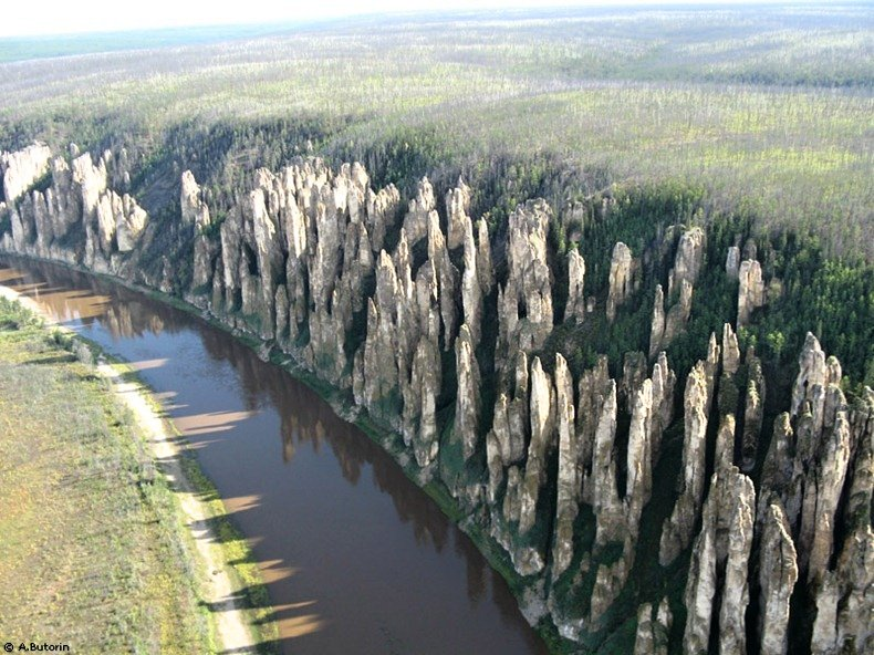 Lena Pillars – natural rock formations, Best places to visit in Russia