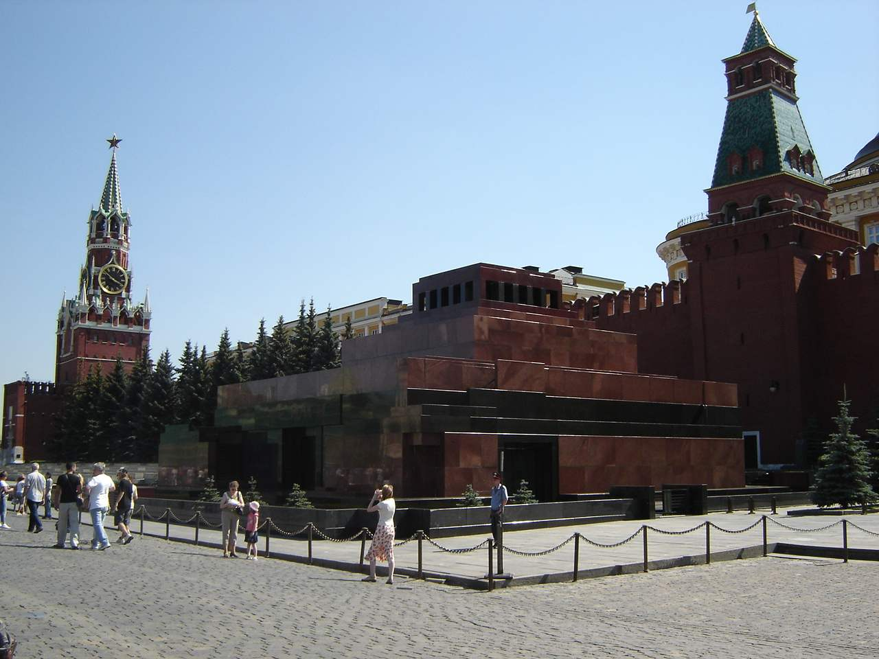 Lenin's mausoleum, Moscow, Russia