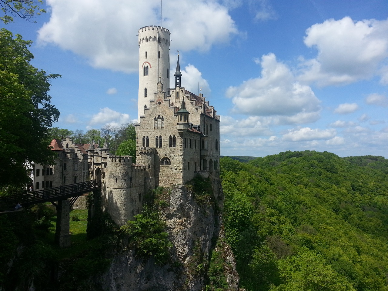 Lichtenstein Castle, Castles in Germany
