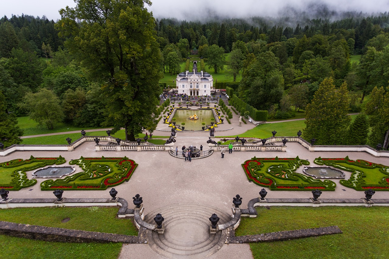 Linderhof Palace, Castles in Germany