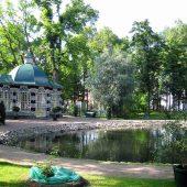 Lower Park of Peterhof, Saint Petersburg, Russia