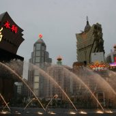 Nam Van Lake Cybernetic Fountain Show, Top tourist attractions in Macau