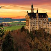 Neuschwanstein Castle, Castles in Germany