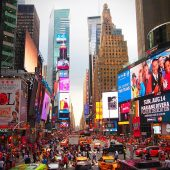 New York City, USA, Most Visited Cities in the World