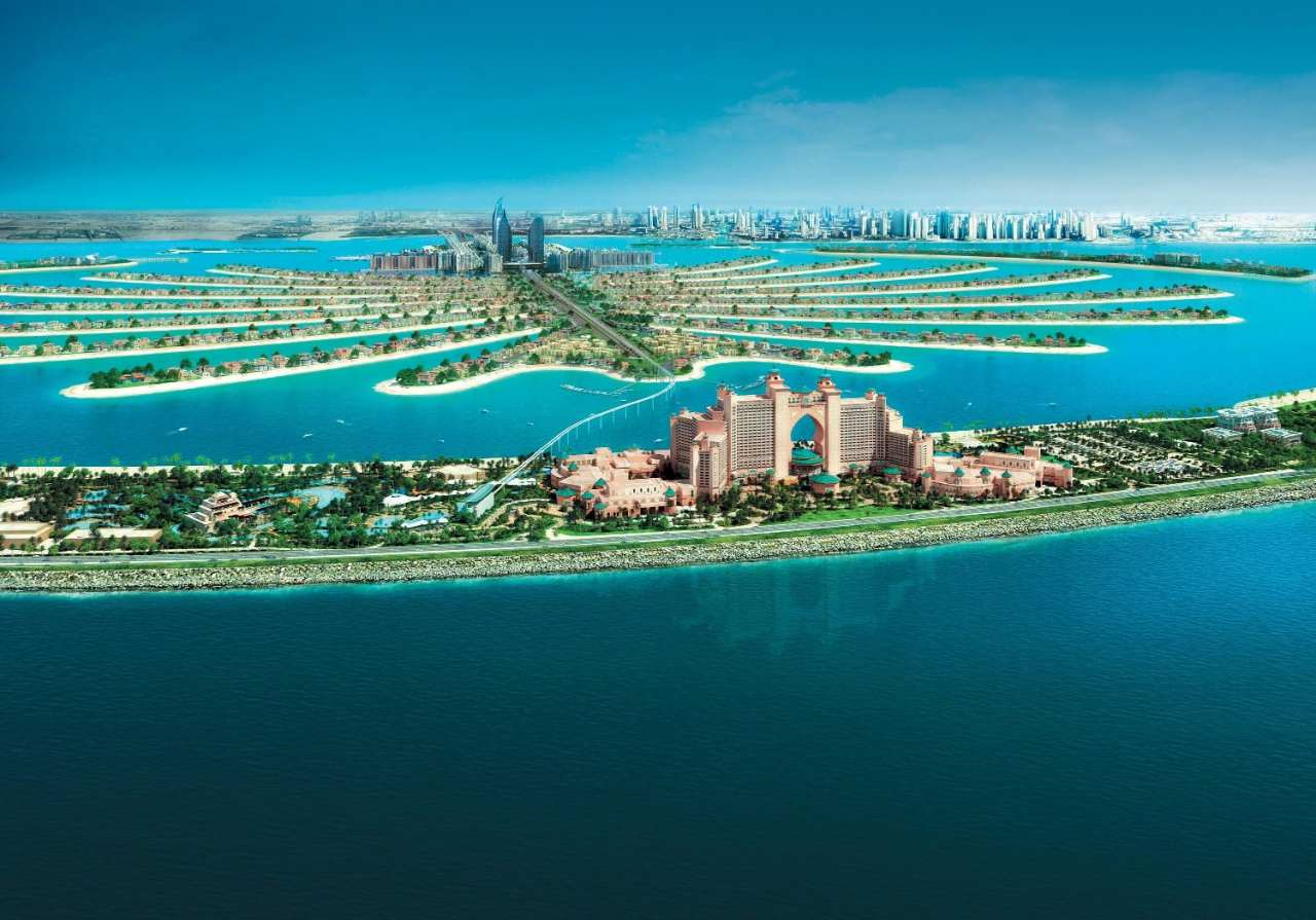 Palm Jumeirah, Top tourist attractions in Dubai