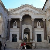 Peristyle of Diocletian's Palace, Split, Best places to visit in Croatia