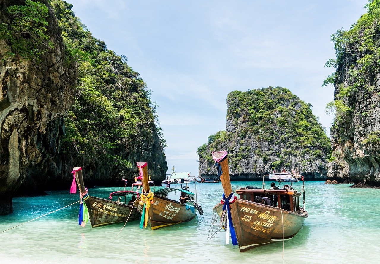 Phi Phi islands, Phuket, Thailand, Most Visited Cities in the World