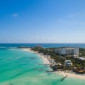 Playa Norte on Isla Mujeres Mexico