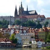 Prague Castle and St. Vitus Cathedral, Prague, Czech Republic