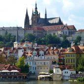 Prague Castle and St. Vitus Cathedral, Prague, Czech Republic