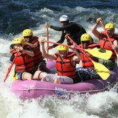 Rafting – Katun, Beluha, Altai Mountains, Russia