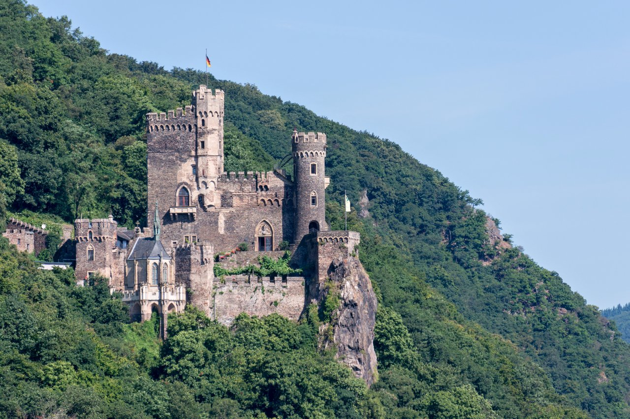 Rheinstein Castle, Castles in Germany