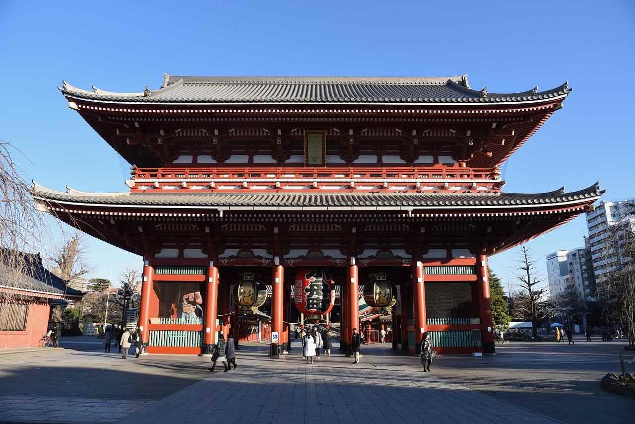 Sensoji Temple, Top tourist attractions in Tokyo