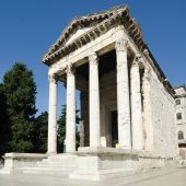 Temple of Augustus, Pula, Best places to visit in Croatia