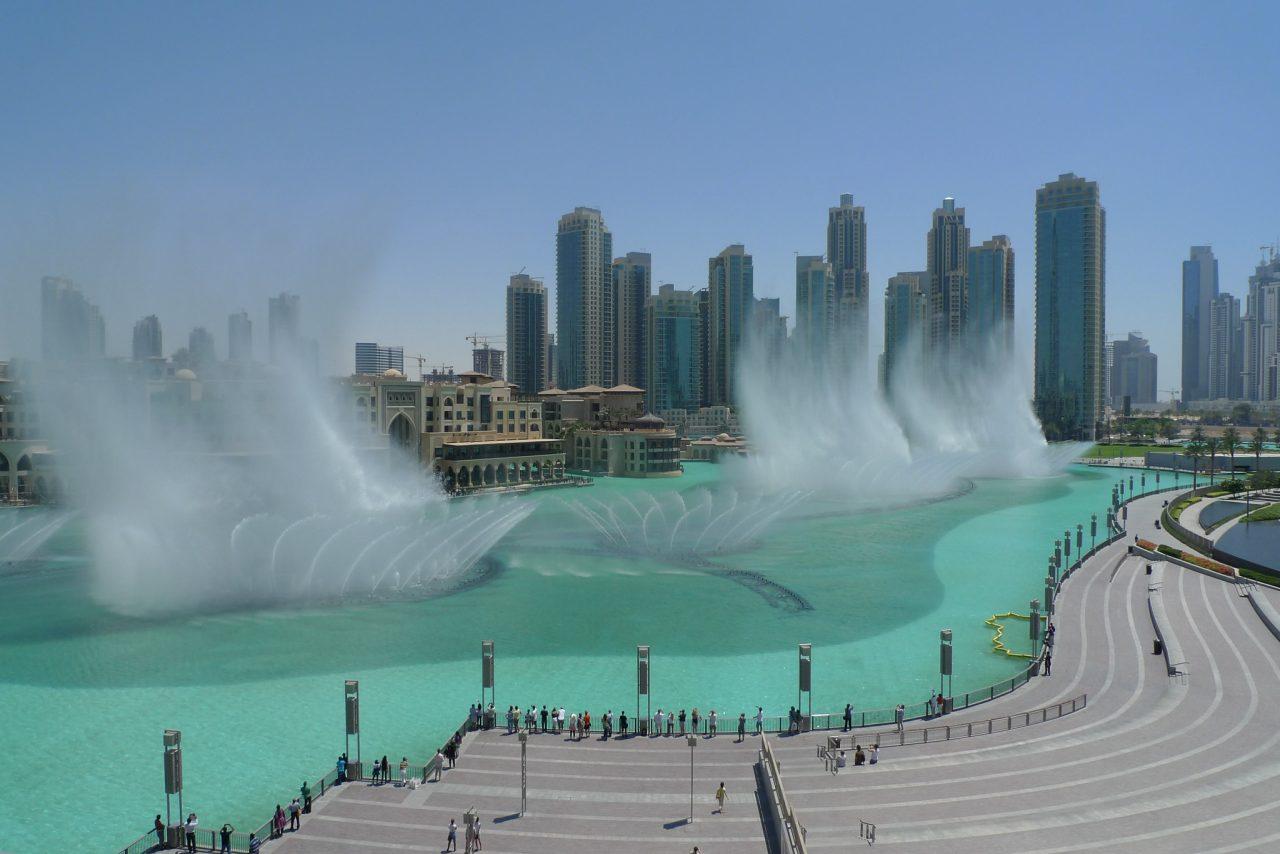 The Dubai Fountain, Top tourist attractions in Dubai