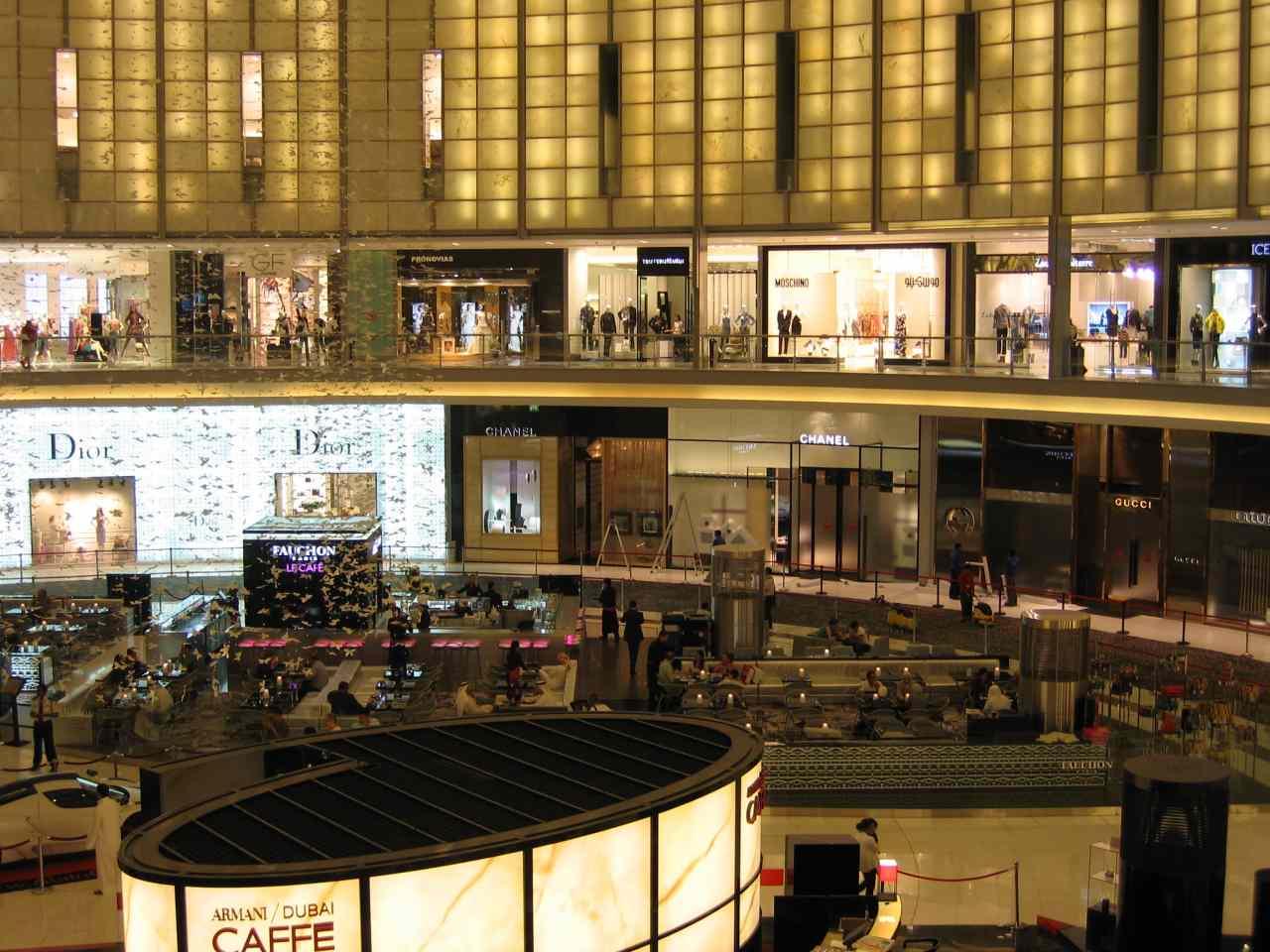 The Dubai Mall, Top tourist attractions in Dubai