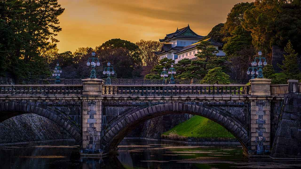 The Imperial Palace and its gardens, Top tourist attractions in Tokyo