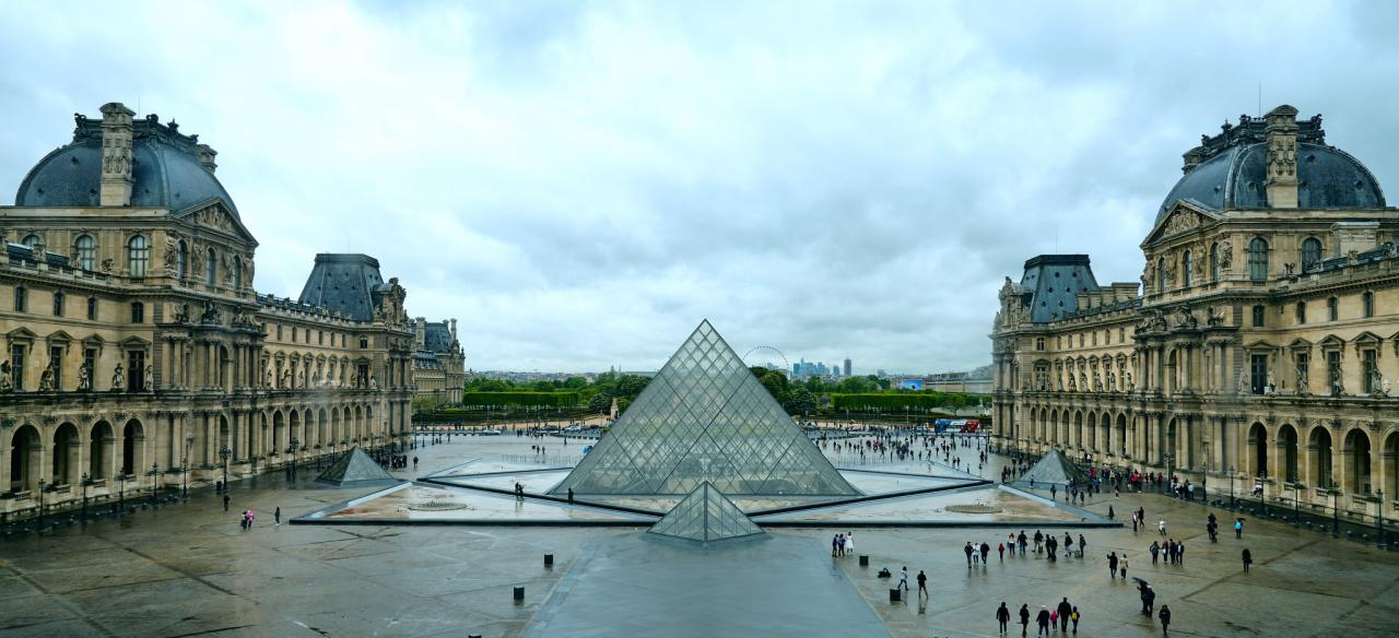 The Louvre, Top tourist attractions in Paris
