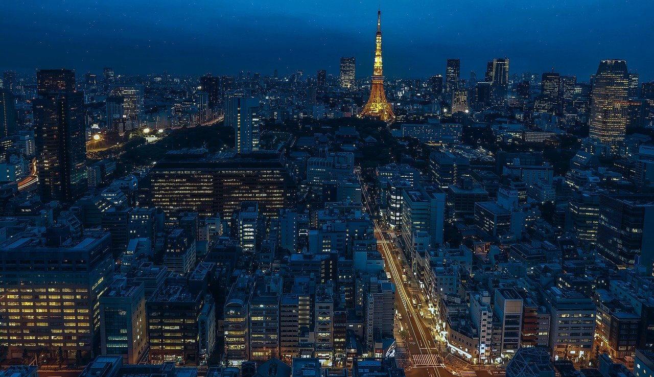 Tokyo, Japan, Most Visited Cities in the World