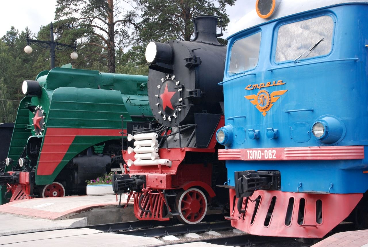 Train Museum, Novosibirsk, Best places to visit in Russia