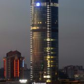 Visotsky Business Center Lookout, Yekaterinburg, Russia