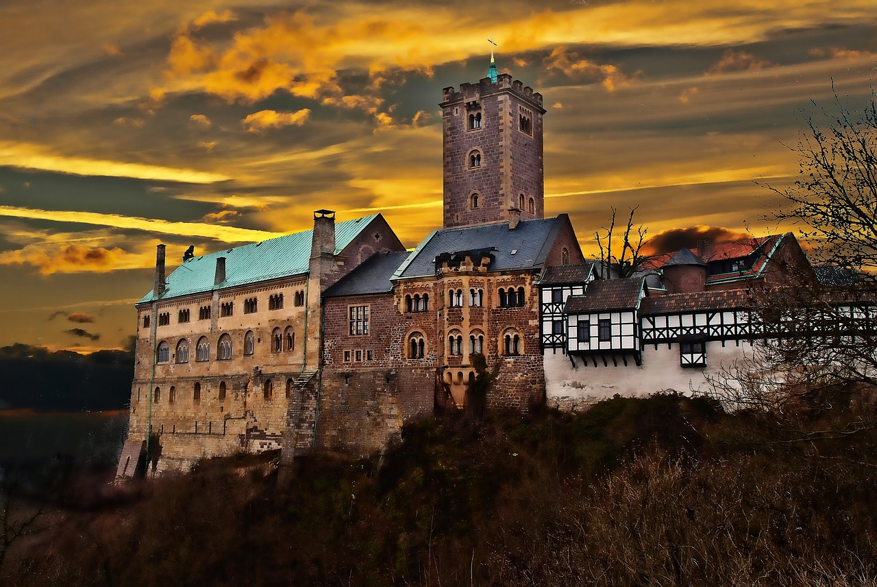 Wartburg Castle, Castles in Germany
