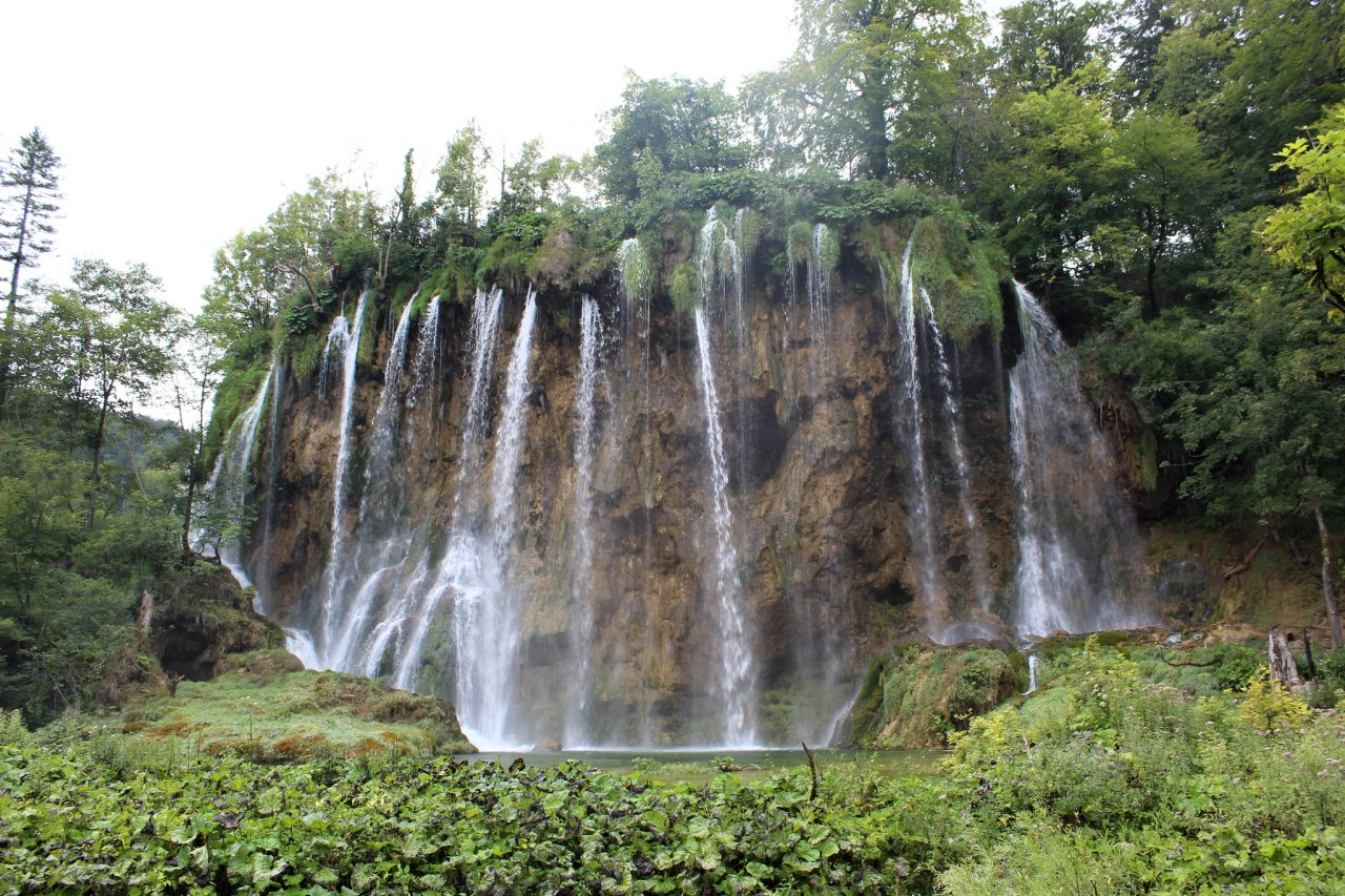 Waterfalls in the Upper Lakes, Veliki Prštavac, Plitvice Lakes National Park , Best Places to Visit in Croatia