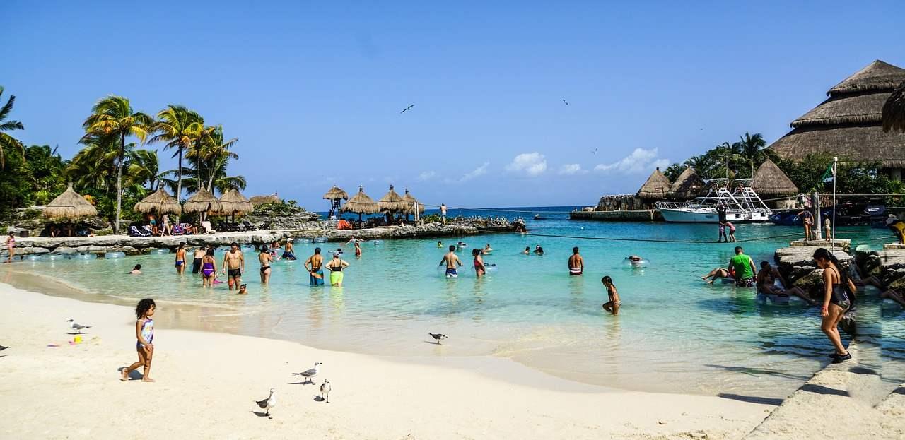 Xcaret Park theme park, Cancun, Mexico
