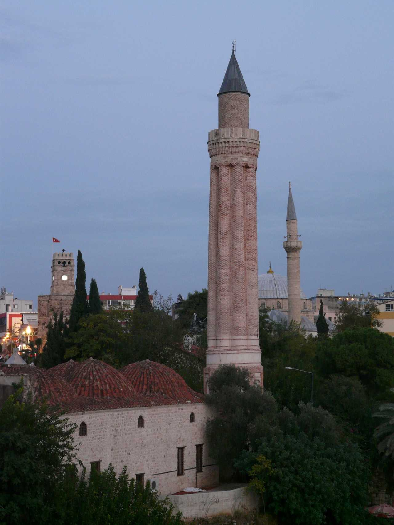Yivliminare Mosque, Top tourist attractions in Antalya