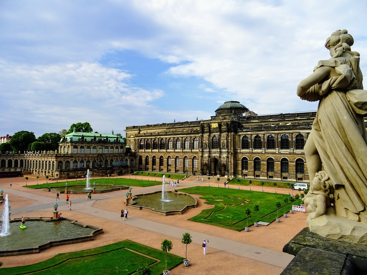 Zwinger Palace, Castles in Germany