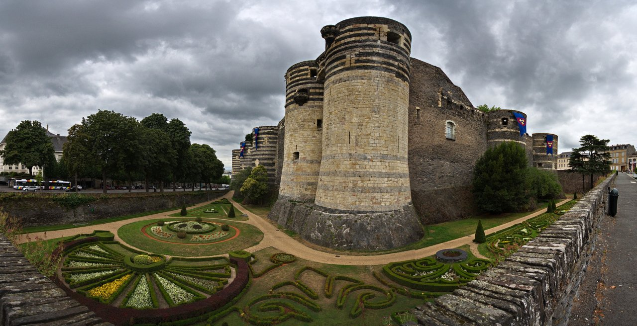 Angers, Castles in France