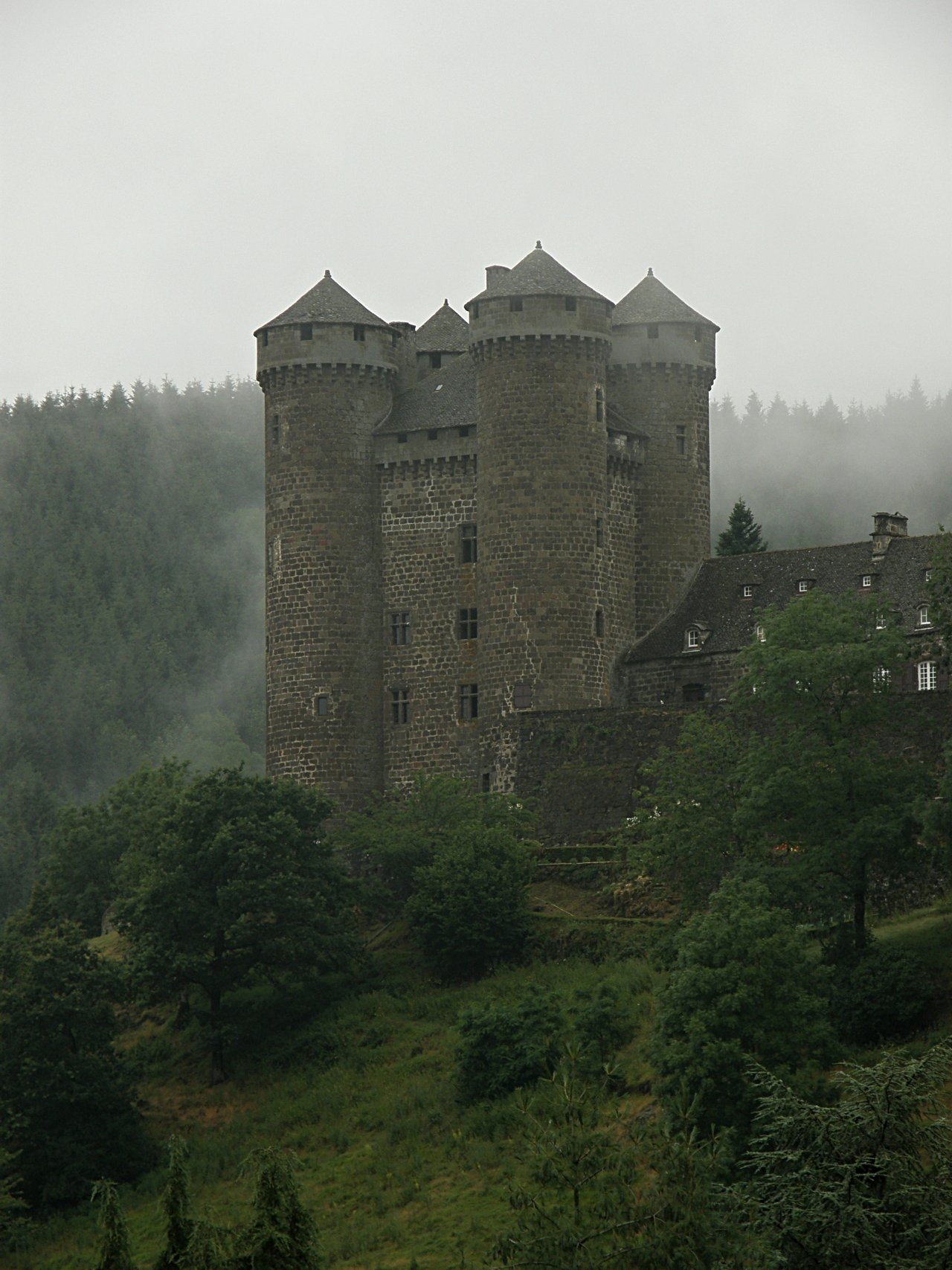 Anjony, Castles in France
