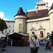 Aubenas, Castles in France