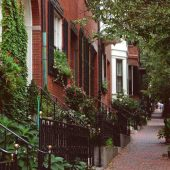 Beacon Hill, Boston, Massachusetts, Visit in USA