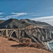 Bixby Bridge, Big Sur, California, Visit in USA