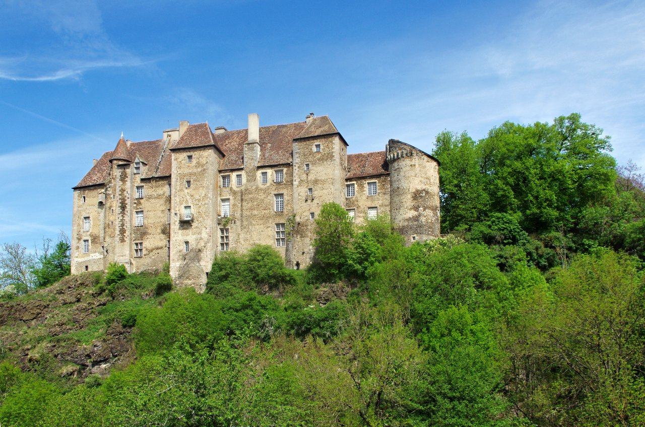 Boussac, Castles in France
