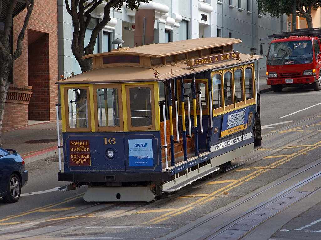 Cable Cars, San Francisco, California, Visit in USA
