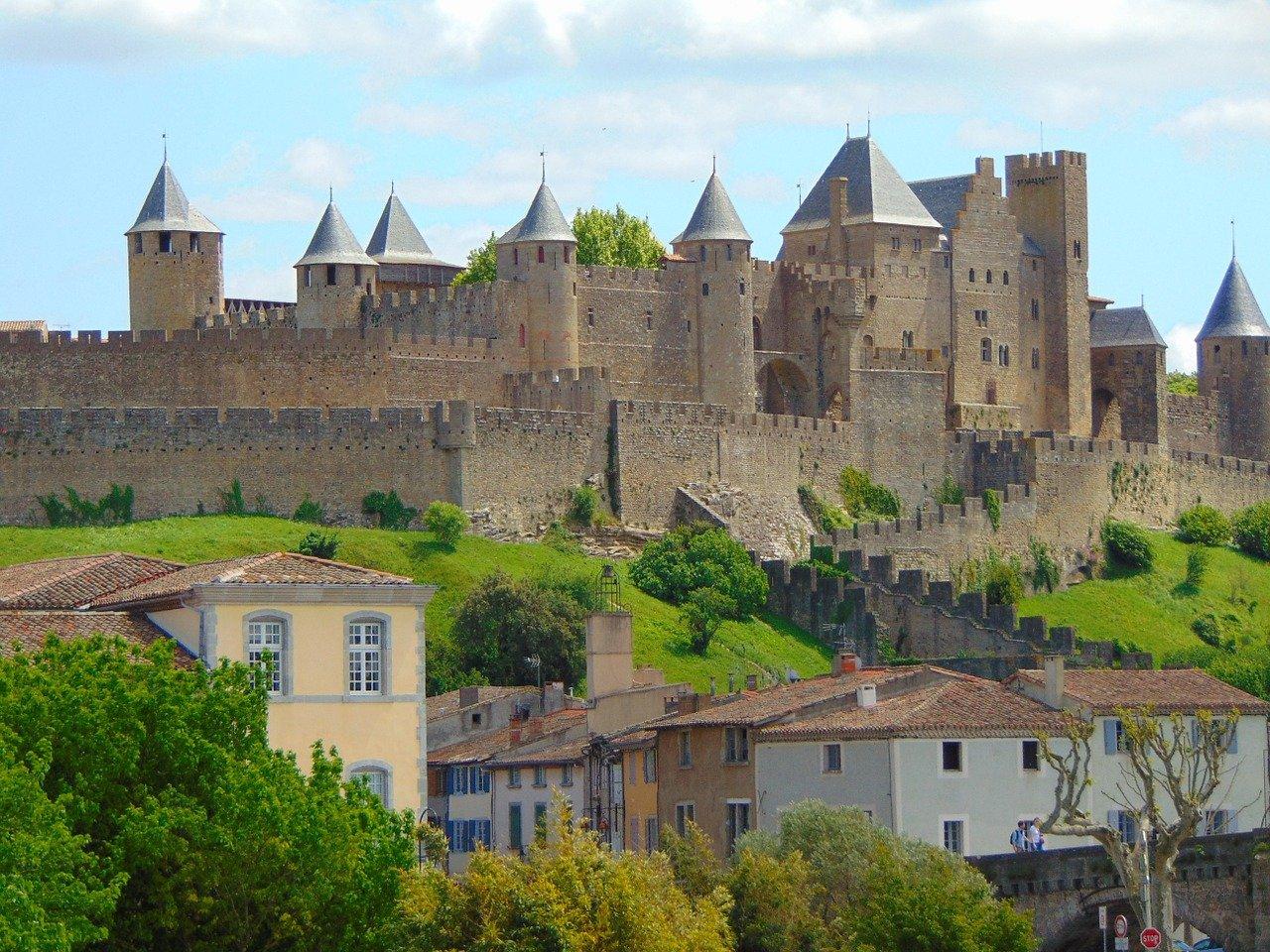 Carcassonne, Castles in France
