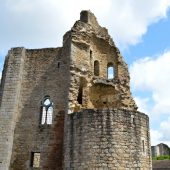 Chalus, Castles in France