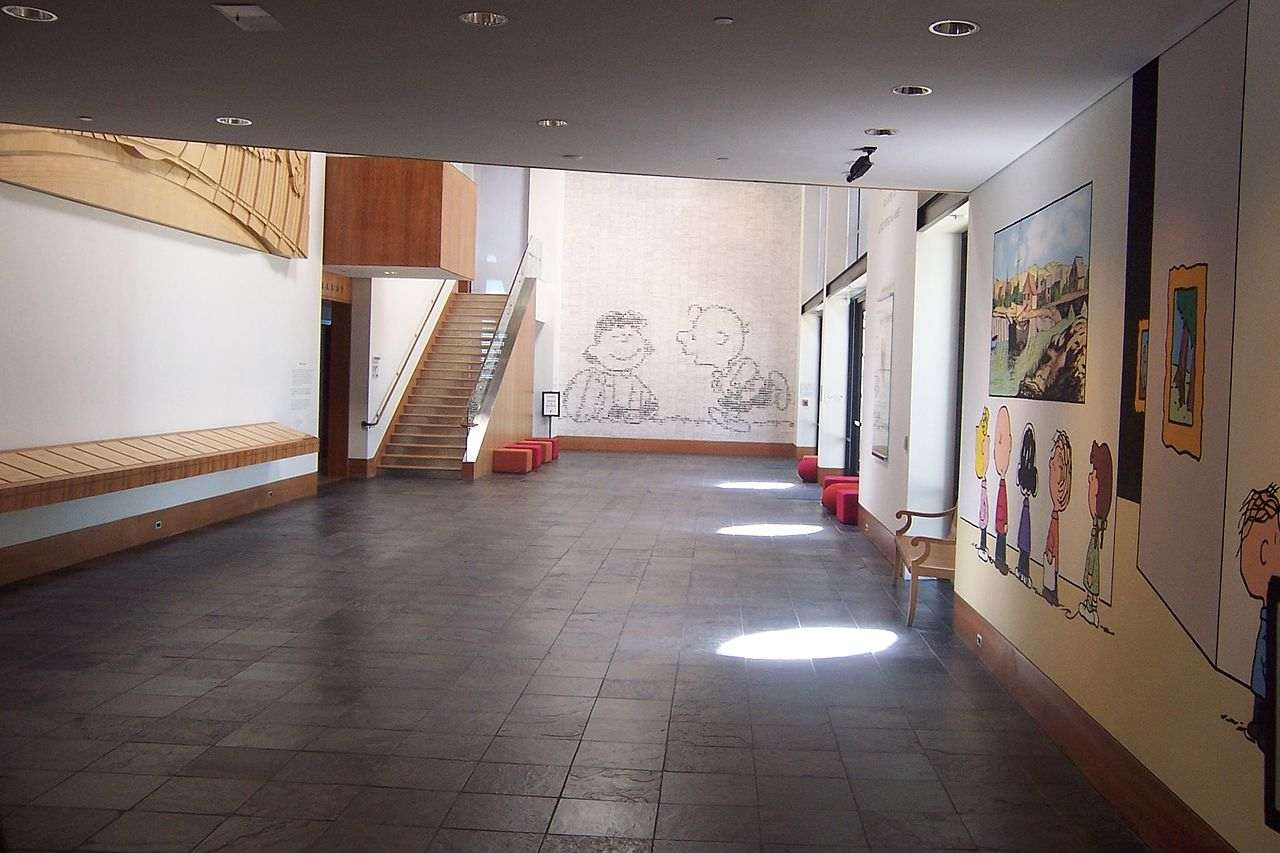 Charles M Schulz Museum & Research Center,  Sonoma, California, Visit in USA