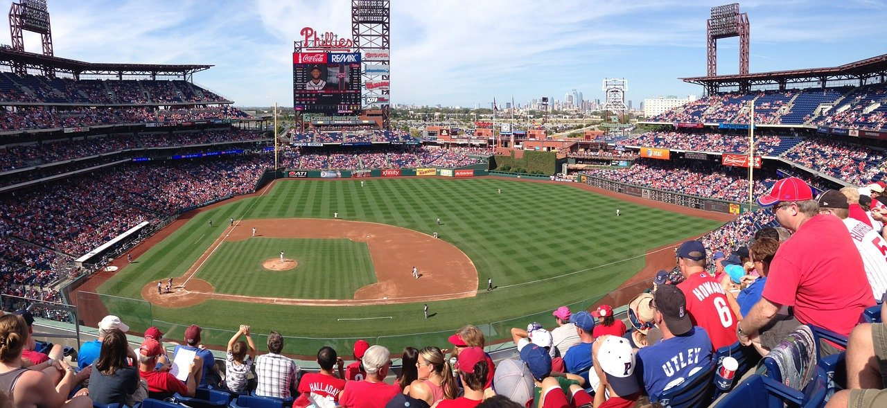 Citizens Bank Park, Philadelphia, Visit in USA