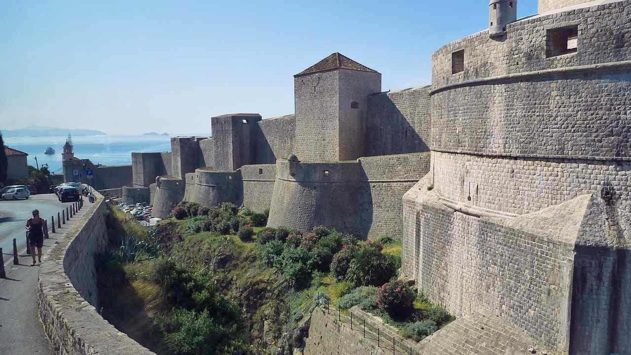City Walls, Dubrovnik, Croatia